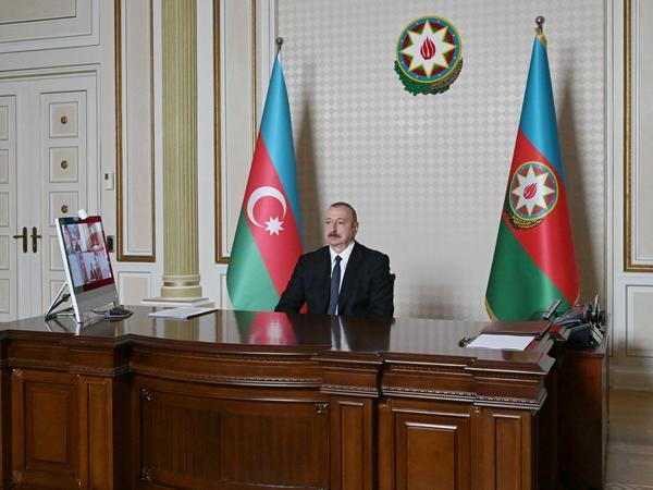 Azərbaycan Prezidenti: Avropa İttifaqının Şərq-Qərb nəqliyyat dəhlizinə marağı artmaqdadır