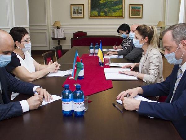 Azərbaycan və Ukrayna arasında əməkdaşlıq yüksək qiymətləndirilib - FOTO