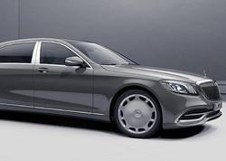 Mercedes-Benz şirkəti Yaponiya üçün də xüsusi Maybach hazırlayıb - FOTO