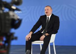 Azərbaycan Prezidenti: Biz son illər ərzində o qədər böyük iqtisadi-maliyyə potensialı yaratmışıq ki, istənilən böhranla bacara biləcəyik