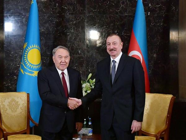 Prezident İlham Əliyev Nursultan Nazarbayevə telefonla zəng edib