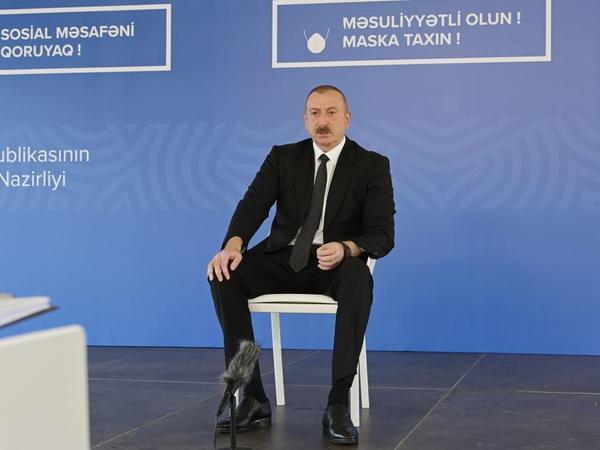 Prezident İlham Əliyev: Biz ATƏT-in Minsk qrupundan daha ciddi, konkret və məqsədə ünvanlanmış bəyanatlar gözləyirik