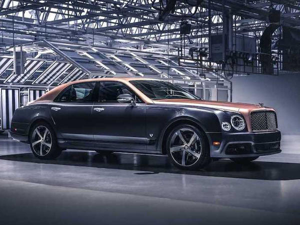 Bentley Mulsanne modelinin istehsalına son verilib - FOTO