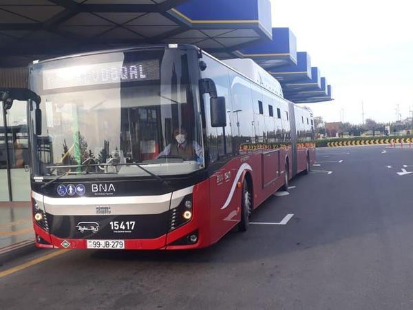 BNA: Gündəlik avtobus sayı nəzarətdə saxlanılır