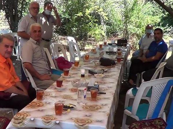 Azərbaycanda yas mərasimi yarımçıq dayandırıldı - FOTO