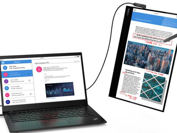 """""""Lenovo ThinkVision M14t"""" monitoru sensorlu idarəetməni dəstəkləyir"""