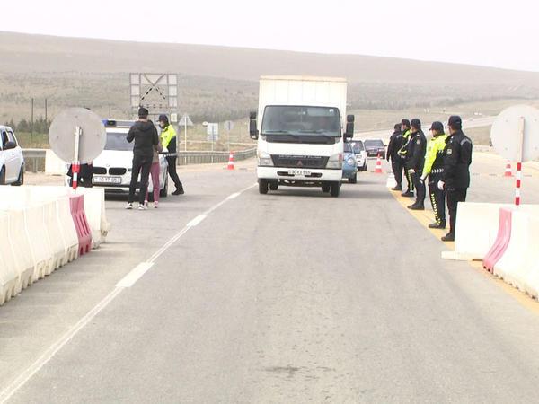 Bir gündə karantin postlarından keçməyə cəhd edən 330 avtomobil geri qaytarıldı