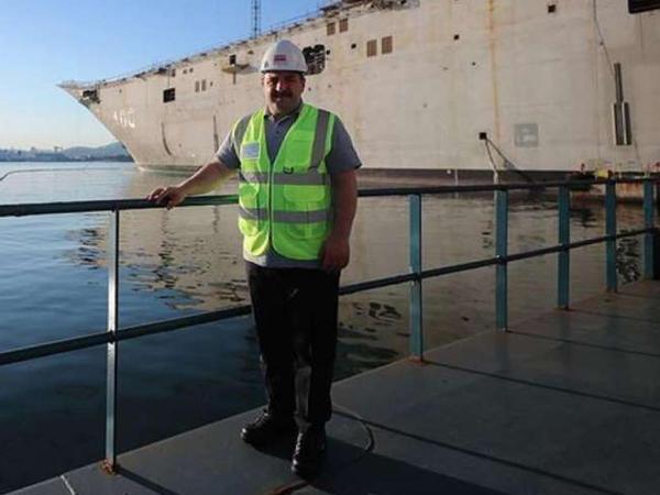 Bu, Türkiyənin ən böyük hərbi yük gəmisi olacaq