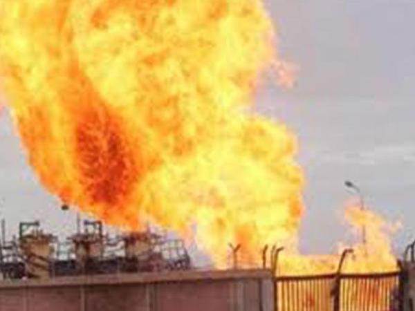 İranda neft emalı zavodunda yanğın başlayıb