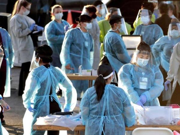 ABŞ-da koronavirusa rekord yeni 66528 yoluxma halı qeydə alınıb