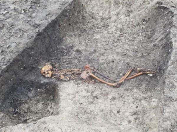 İngiltərədə 2500 il bundan əvvələ aid insan skeleti tapıldı