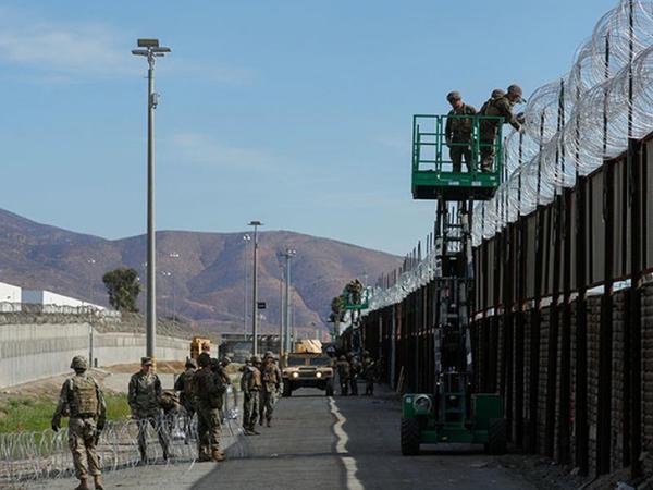 ABŞ-Meksika sərhədində yeni səddin 400 kilometrlik hissəsi çəkilib