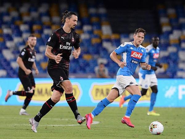 """""""Napoli"""" - """"Milan"""" oyununda 4 qol - VİDEO"""