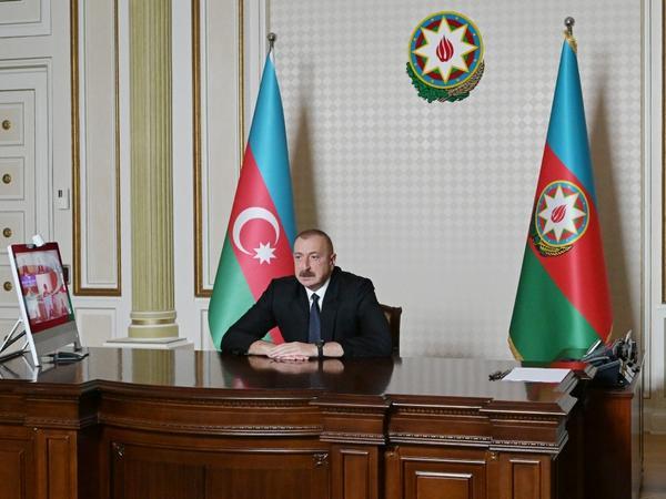 """Azərbaycan Prezidenti: """"Hərbçilərimizin, şəhidlərimizin qanı yerdə qalmayıb və qalmayacaq"""""""