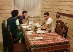 """Abşeronda karantin qaydalarını pozan restoran aşkaralanıb, <span class=""""color_red"""">11 nəfər cərimələnib - FOTO</span>"""