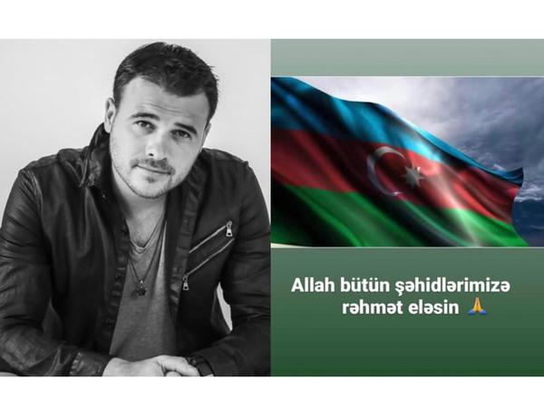 Emin Ağalarovdan şəhidlərlə bağlı paylaşım - FOTO