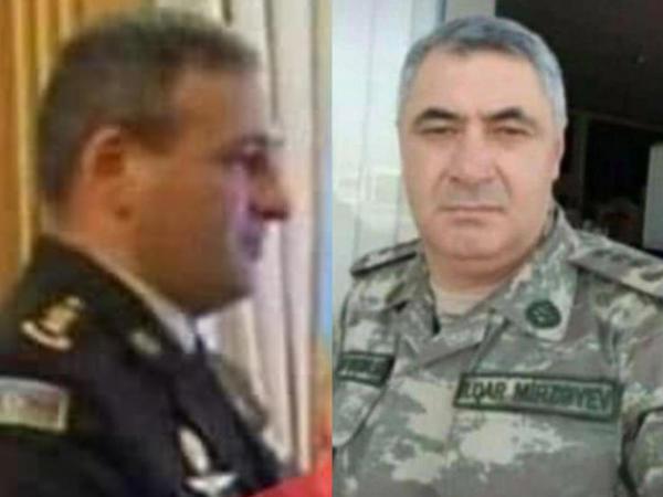 General-mayor və polkovnik şəhid oldu - RƏSMİ