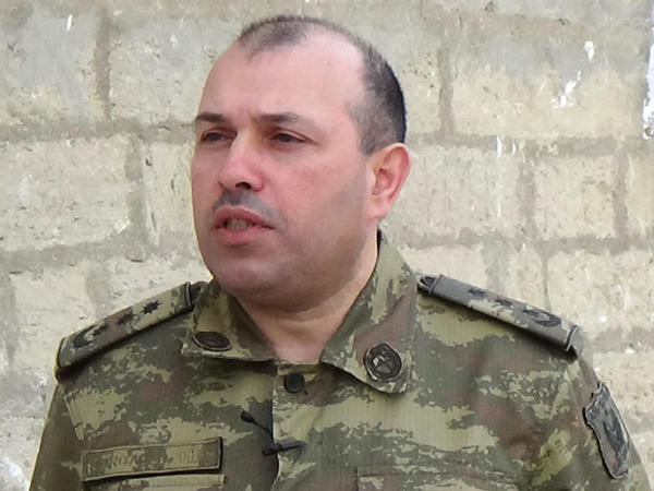 Vaqif Dərgahlı: Əməliyyat şəraiti tam olaraq Azərbaycan Ordusunun nəzarəti altındadır