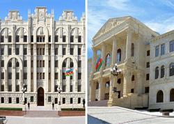 Baş Prokurorluq və DİN Milli Məclisin binası qarşısında baş verənlərlə bağlı birgə məlumat yayıb
