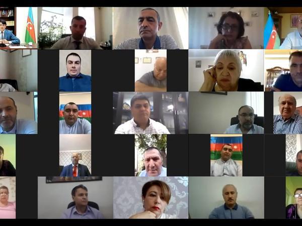 Azərbaycan diasporu Ermənistanın məkrli niyyətini pisləyir - FOTO