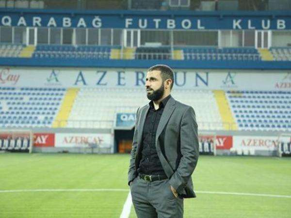 """Rəşad Sadıqov """"Qarabağ""""la vidalaşdı - <span class=""""color_red""""> FOTO</span>"""