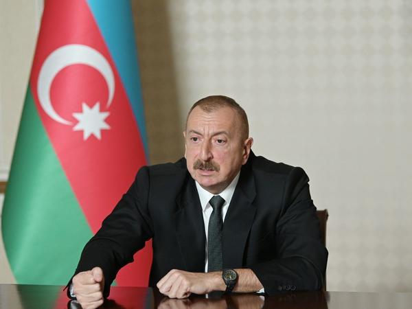 Prezident İlham Əliyev: Ermənistan-Azərbaycan Dağlıq Qarabağ münaqişəsi ilə bağlı bir addım geri atmayacağıq