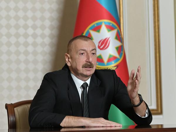 Azərbaycan Prezidenti: Biz bu günlərdə Türkiyədən yenidən qardaşlıq, dostluq münasibəti gördük
