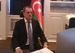 Ceyhun Bayramov XİN başçisi kimi ilk fövqəladə iclasa qatıldı - FOTO