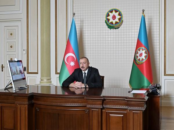 Azərbaycan Prezidenti: Biz Ermənistanla imitasiya naminə danışıqlar aparmaq, mənasız videokonfranslar keçirmək fikrində deyilik