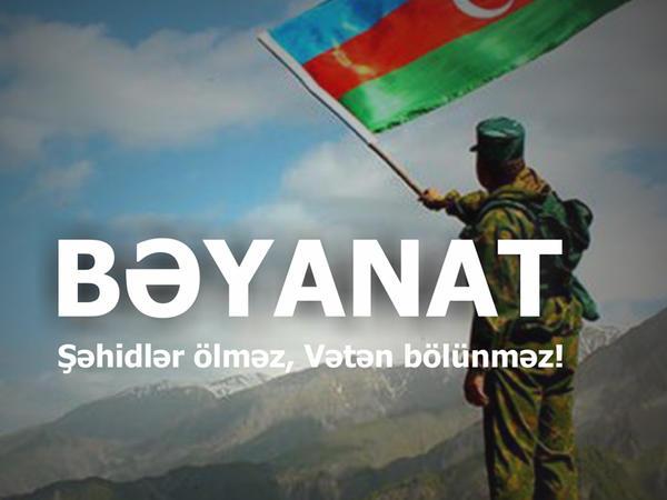 Gənclər təşkilatları hüquq mühafizə orqanlarına müraciət etdilər