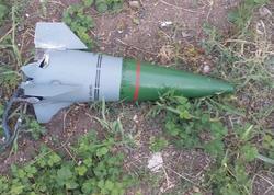 Qazaxda raket başlığı aşkarlandı - FOTO