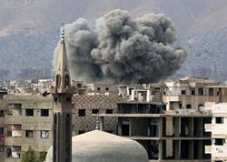 """Suriyada məscid yaxınlığında iki partlayış baş verib, <span class=""""color_red"""">1 nəfər ölüb</span>"""