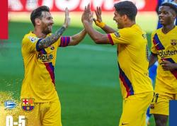 """Alaves"" - ""Barselona"" oyununda 5 qol vuruldu"