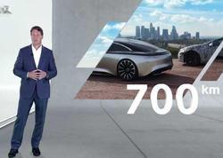 Mercedes-Benz EQS modeli 700 kilometrlik yürüş məsafəsinə malik olacaq - FOTO
