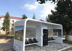 """Azərbaycanda ilk dəfə bio smart avtobus dayanacağı - <span class=""""color_red"""">Pulsuz wifi, mini bar</span>"""