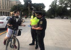 Polis Bakı bulvarında reyd keçirdi - VİDEO - FOTO