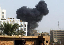 Bağdadda hərbi baza raket hücumuna məruz qalıb