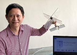Mühəndislər quş kimi uça bilən robot düzəldiblər