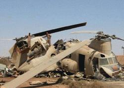 """Əfqanıstanda helikopter qəzaya uğradı: <span class=""""color_red"""">ölən var</span>"""