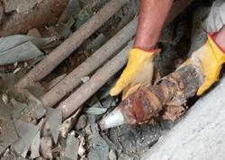 Ağdamda İran istehsalı olan 2 minaatan mərmisi tapıldı - FOTO