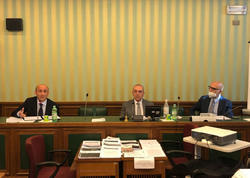 İtaliya Senatında Ermənistanın son təxribatlarına dair dinləmələr keçirilib - FOTO