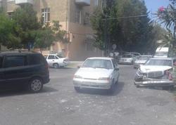 Sumqayıtda sərnişin avtobusu qəzaya uğradı - FOTO