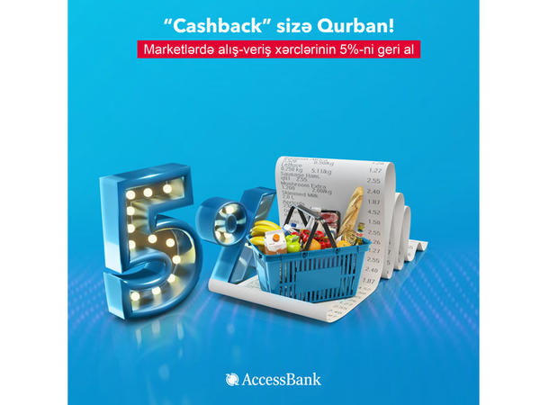 """""""AccessBank""""dan Qurban bayramı münasibətilə 5% """"cashback""""!"""