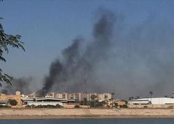 Bağdadın hava limanı raket hücumuna məruz qalıb