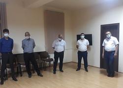 Evdə nişan edənlər saxlanıldılar - FOTO