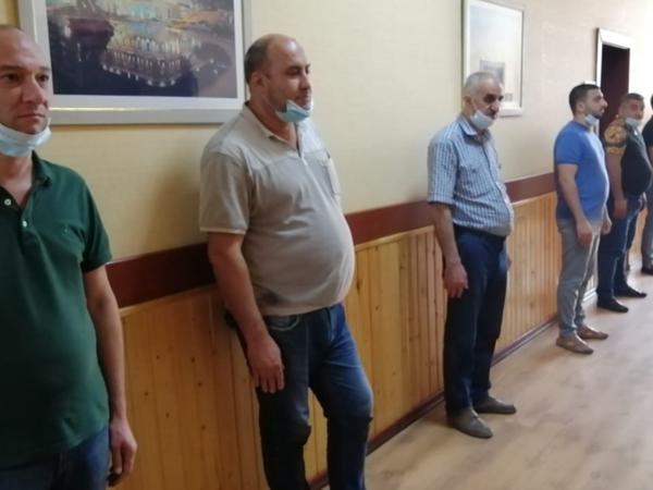 Abşeronda karantin qaydalarını pozan restoran sahibi və müştərilər saxlanıldı - FOTO - VİDEO