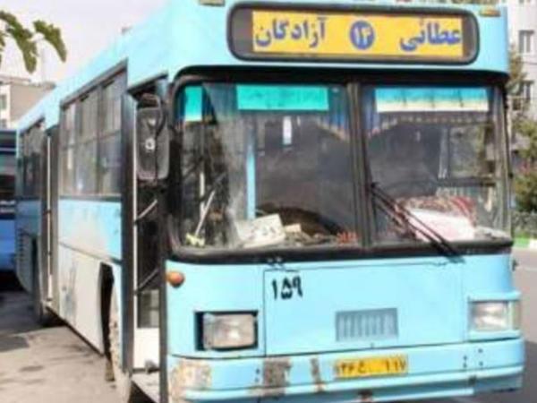 Urmiyədə avtobus sürücüləri aksiya keçirib