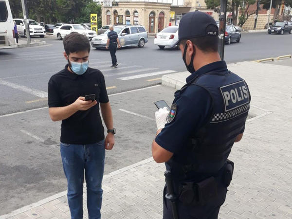 Bakıda gücləndirilmiş nəzarət tədbirləri davam etdirilir - FOTO