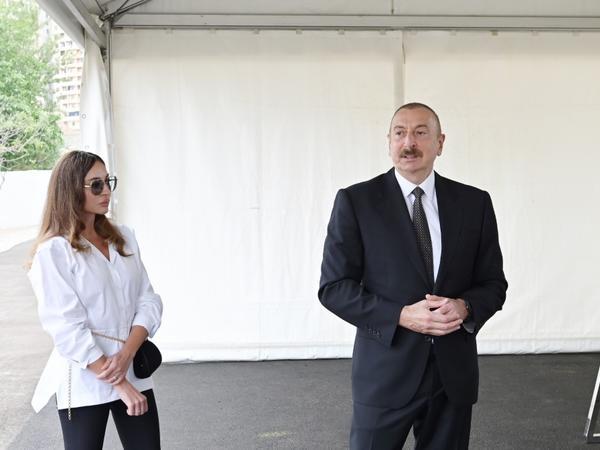 Prezident İlham Əliyev: Bu park sakinlər üçün yaxşı Yeni il bayramı hədiyyəsi ola bilər