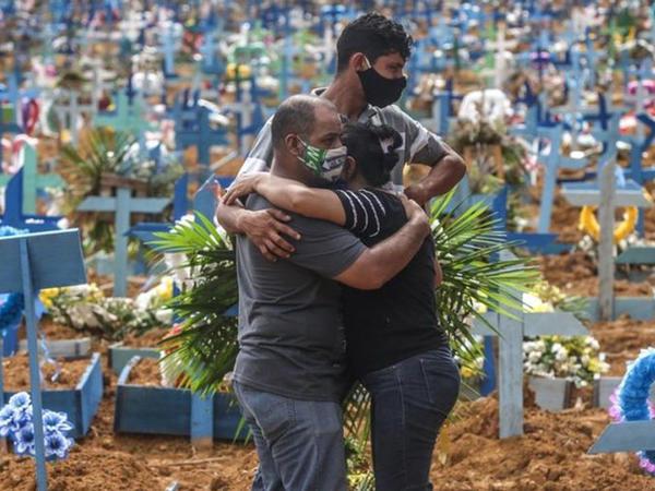 Braziliyada koronavirusa daha 16 641 nəfər yoluxub
